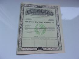 LA MAISON DU CAFE - Unclassified