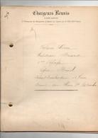 """Rapport Général Vapeur """"Circé"""" Capitaine Briand Ligne Brésil Chargeurs Réunis Départ Dunkerque 12 Juin 1913 - Boten"""