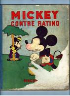 BD MICKEY  Contre RATINO De 1932 - Mickey - Autres