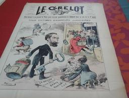 Journal Satirique Le Grelot N°1001 Juin 1890 Victimes Erreurs Judiciaires Louise Michel Marquis De Morès Camille Dreyfus - 1850 - 1899