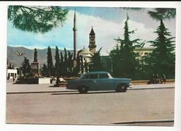 Albanie TIRANA Vue De La Place Scanderberg En 1966 Auto OPEL ? VOIR Timbres - Albanië