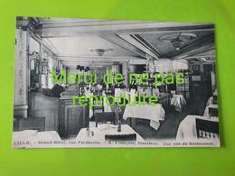 59 186 LILLE  Grand Hotel Rue Faidherbe . Vue Du Restaurant - Lille