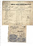 WEVELGEM, WEVELGHEM, MESTSTOFFEN En SUIKERIJEN EMILE GHEYSENS-MALFAIT - 1900 – 1949