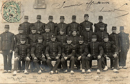 Montargis, Soldats Du 82e Régiment D'infanterie. Leurs Noms Sont Indiqués. - Reggimenti