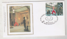 TINTIN   Enveloppe 1er Jour Avec Timbre 1999 - Otros Objetos De Cómics