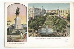 Egypte Alexandrie Statue De Mohamed Ali Place Des Consuls - Alexandria