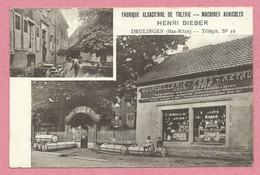 67 - DRULINGEN - Henri BIEBER - Fabrique Alsacienne De Tolerie - Machines Agricoles - Voir état - Drulingen