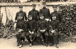 Cosne-sur-Loire, Septembre 1912, Huit Sous-lieutenants Du 85e Régiment D'infanterie - Regimientos