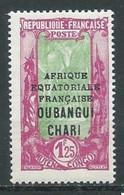 Oubangui-Chari YT N°80 Avenue Des Cocotiers Libreville Neuf/charnière * - Nuovi