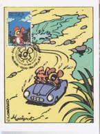 MACHEROT Carte 1er Jour Avec Timbre 1996 - Otros Objetos De Cómics