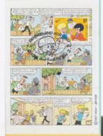 JEF NYS Carte 1er Jour Avec Timbre 1997 - Otros Objetos De Cómics