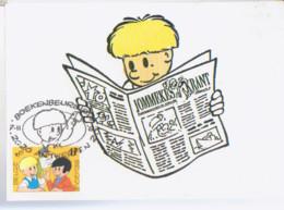 JEF NYS Carte 1er Jour Avec Timbre 2020 - Otros Objetos De Cómics