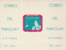 PARAGUAY - BLOC N°13 ** NON DENTELE (1961) Espace : Shepard - Paraguay