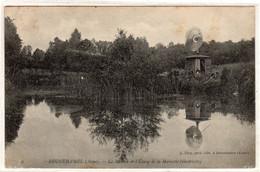 CPA 02 : 2 - BRUNEHAMEL - Le Moulin De L'Etang De La Mariette (électricité)  - Ed. A.Dizy - 1908 - - Altri Comuni