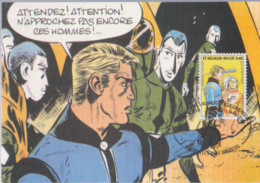 LUC ORIENT Carte 1er Jour Avec Timbre 2001 - Otros Objetos De Cómics