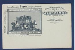 CPA Publicité Publicitaire Réclame Non Circulé Bustes Et Mannequins Sport Exposition Universelle De Paris 1900 - Reclame
