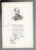 RAFFAELLI JEAN FRANCOIS 1850 1924 PARIS PEINTRE SCULPTEUR GRAVEUR PORTRAIT AUTOGRAPHE BIOGRAPHIE ALBUM MARIANI - Documenti Storici