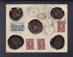 Bulgarien Bulgaria Wertbrief 1926 Nach Deutschland - Brieven En Documenten