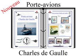 Albums De Timbres à Imprimer   PORTE-AVIONS CHARLES DE GAULLES - Zonder Classificatie