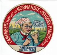 Camembert De Normandie - Normand Avec Fromage - Absence Pourcentrage M G - Kaas