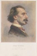 Josef Manes Self Portrait Czech Artist Painter Painting Postcard - Tschechische Republik