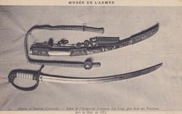 Sabre De L'empereur D' Annam Lia-Long Pris Dans Un Tombeau Près De Hué En 1885 - Sin Clasificación