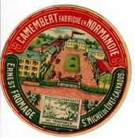 Camembert De Normandie - Ernest Fromage - St Michel De Livet - Kaas