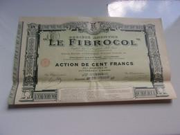 LE FIBROCOL  (grenoble ISERE) - Unclassified