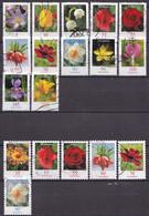 West-Duitsland - 2.500 Zegels - Blumen/Bloemen - O - Afgeweekt - Kilowaar (min. 1000 Zegels)