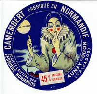 Camembert De Normandie - LE PIERROT -  Aunay Sur Odon - Kaas
