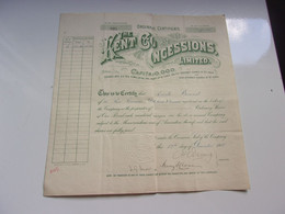 THE KENT COAL CONCESSIONS (1910) - Unclassified
