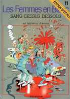 """Les Femmes En Blanc   """"Sang Dessus Dessous """"  Tome 11   De BERCOVICI & CAUVIN   DUPUIS - Femmes En Blanc, Les"""