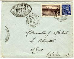 48297 - MARTEL DE  JANVILLE Recette Auxiliaire - 1921-1960: Periodo Moderno