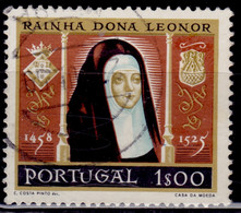 Portugal 1958, Queen Leonor, 1e, Sc#840, Used - Used Stamps