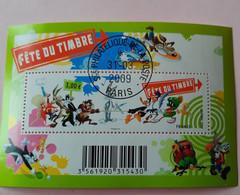 Bloc N° 4341 Fête Du Timbre 2009 OBLITERE 1ER JOUR GOMME INTACTE - Usati