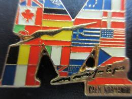 Pin's Caen Normandie - Militari