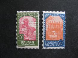 SOUDAN: TB Paire N°131 Et N° 132, Neufs X . - Unused Stamps