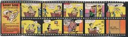 Mini Bd N° 6 LUCKY LUKE Dans Le Bain 1984 Vache Grosjean - Objetos Publicitarios