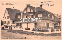 Villas La Buissonnière Bagatelle Les Heures Claires - Coq Sur Mer - De Haan - De Haan