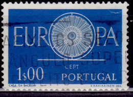 Portugal, 1960, CEPT, Europa, 1e, Sc#327, Used - Used Stamps