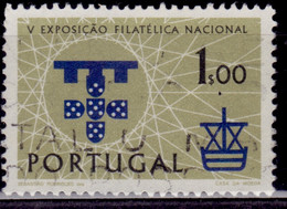 Portugal, 1960, National Stamps Exhibition - Lisbon, 1e, SW#889, Used - Used Stamps