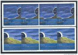 Iles Féroé 2015 Carnets C826/827 Neufs éclipse - Islas Faeroes