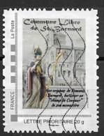 Commune Libre De Saint Barnard - Personalized Stamps (MonTimbraMoi)
