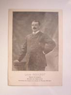 1903 MENU BANQUET BRULEZ Maire NEUILLY L'EVEQUE (Haute-Marne 52) LEON MOUGEOT Ministre De L'Agriculture - Menükarten