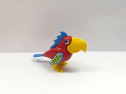 Kinder : 619147  Paradiesvögel 1990 - Paradiesvögel 2-rouge-Bec Jaune-petite Crête B - Inzetting