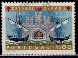 Portugal, 1961, 100th Anniversary Of City Of Setubal, 1e, SW#894, Used - Used Stamps