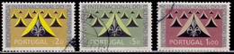 Portugal, 1962, International Scout Congress, SW#906-08, Used - Used Stamps