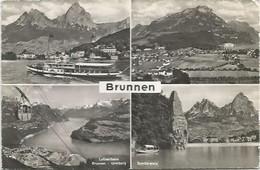 CPSM Suisse  Brunnen - SZ Schwyz