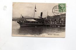 16MRC96 - SVIZZERA VAUD , Cartolina 16/8/1905 Da MONTREUX : Debarcadere - VD Vaud