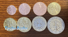 FRANCIA 2021 FRANCE - UNC Set - FDC - FIOR DI CONIO Da Starter Kit - UNCIRCULATED FRANKREICH (8 Coins) - France